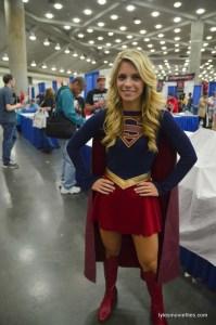 Baltimore Comic Con 2016 - Laney as Supergirl