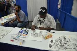 Baltimore Comic Con 2016 - Ron Wilson working