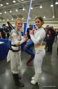 Baltimore Comic Con 2016 - Star Wars Rey and Padme