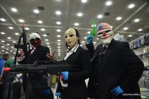 Baltimore Comic Con 2016 - bank trio