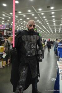 Baltimore Comic Con 2016 - burnt Vader long shot