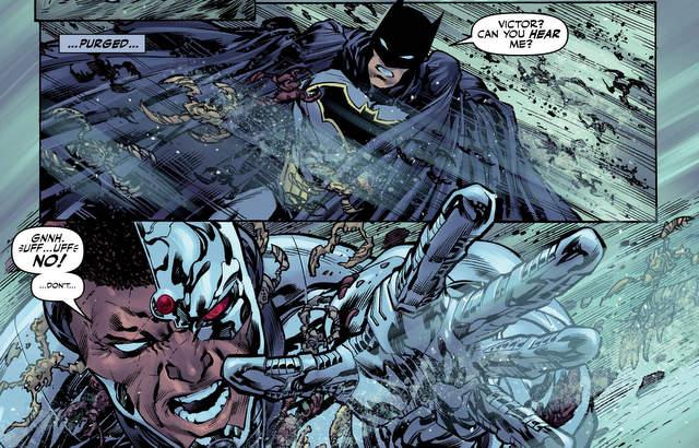 Justice League #4 panel art