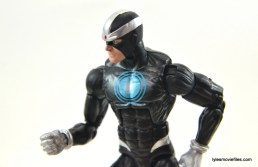 Marvel Legends Havok figure review -looking to the side