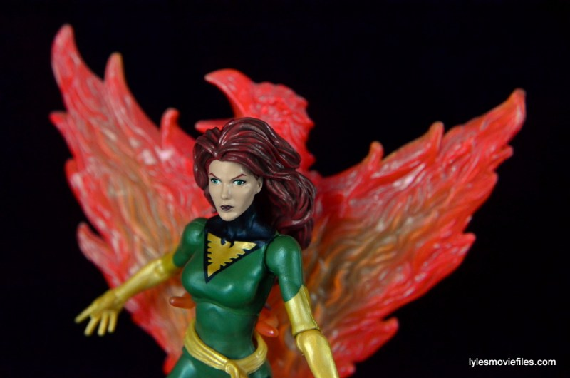 Marvel Legends Phoenix figure review -with Phoenix flame