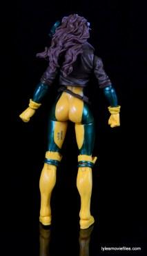 Marvel Legends Rogue figure review - rear