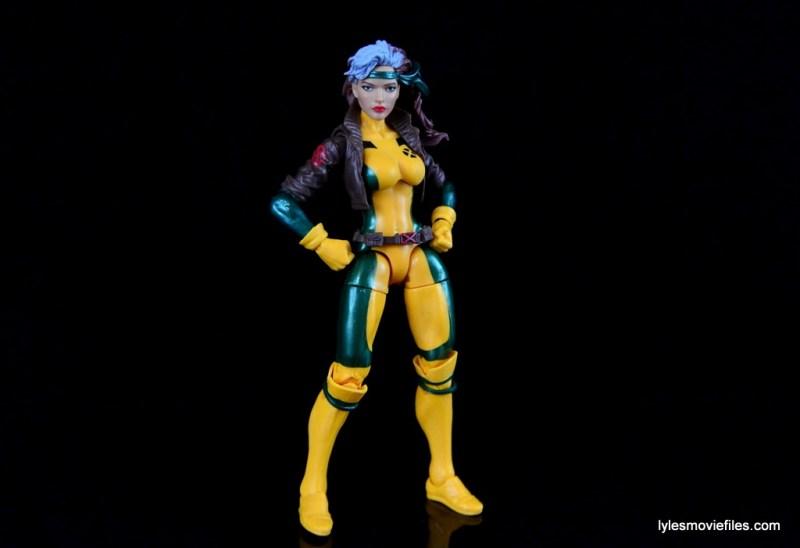 Marvel Legends Rogue figure review - wide stance