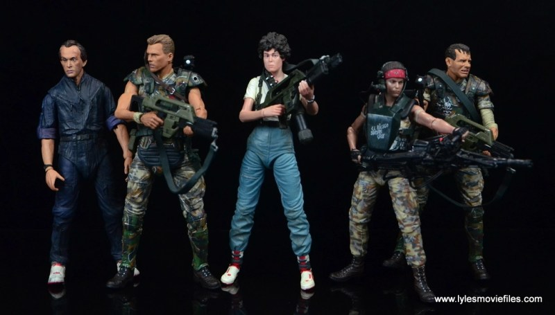 neca-aliens-series-9-pvt-jenette-vasquez-with-bishop-hicks-ripley-and-hudson