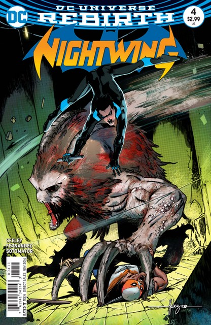 Nightwing #4 cover