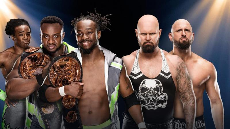 wwe-clash-of-champions-new-day-vs-the-club