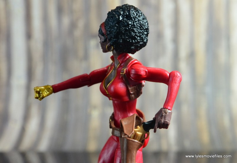 marvel-legends-misty-knight-figure-review-grabbing-gun-from-holster