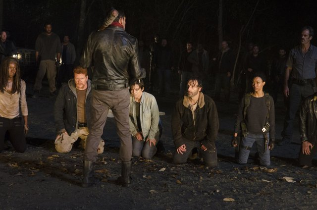 the-walking-dead the day will come when you wont-be-michonne-abraham-maggie-negan-rick-and-sasha