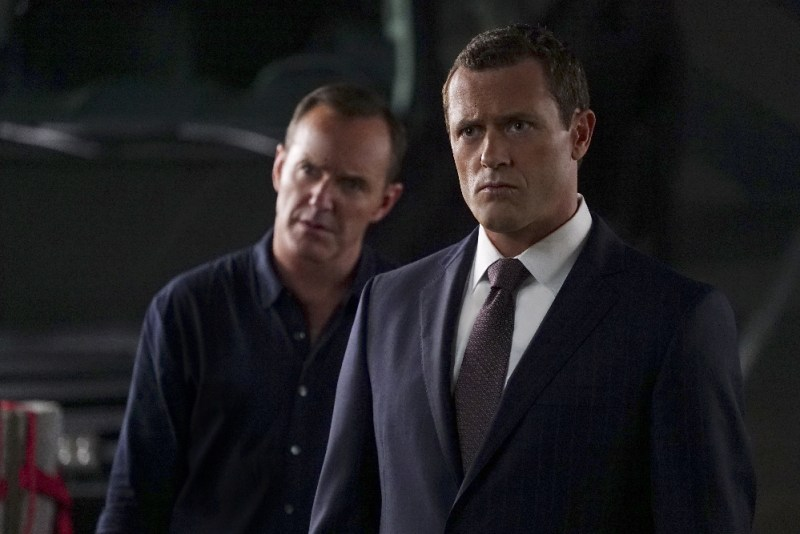 The Good Samaritan image of Agent Coulson and Director Mace