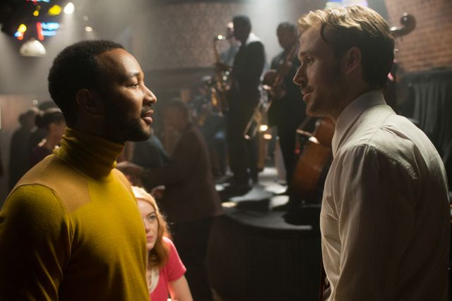 La La Land review - John Legend, Emma Stone and Ryan Gosling