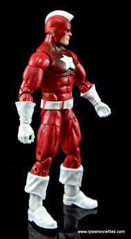 Marvel Legends Red Guardian figure review - right side