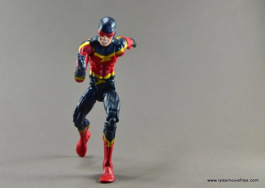 Marvel Legends Speed Demon figure review - on the move