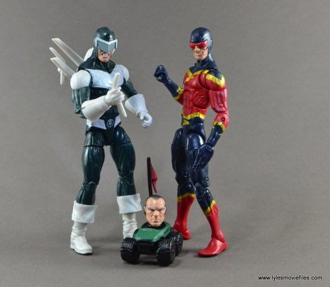 Marvel Legends Speed Demon figure review - with Boomerang and Silvermane