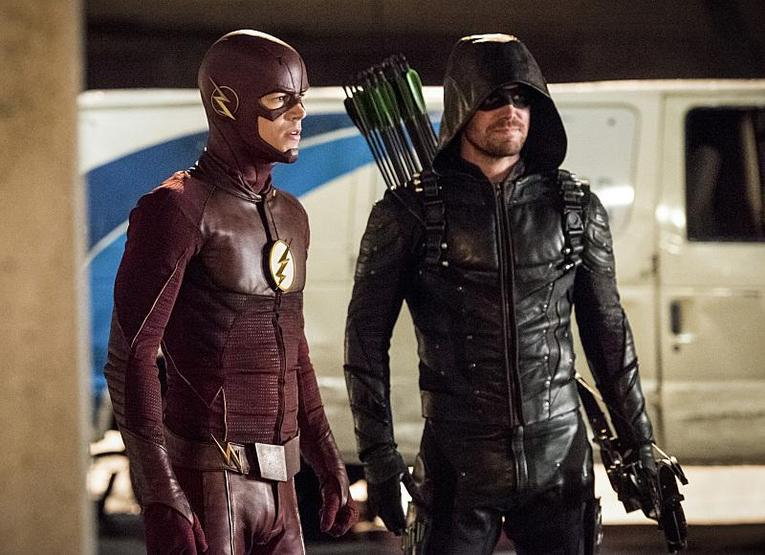 the-flash invasion flash-and-green-arrow