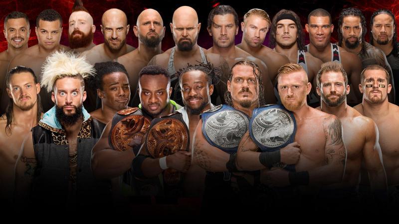 wwe survivor series 2016 10-man-tag-team