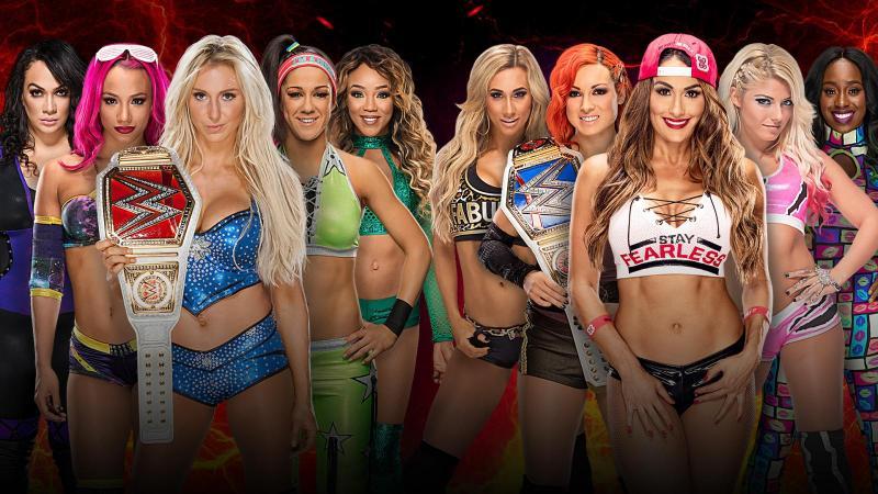 wwe-survivor-series-2016-team-raw-vs-team-smackdown-womens