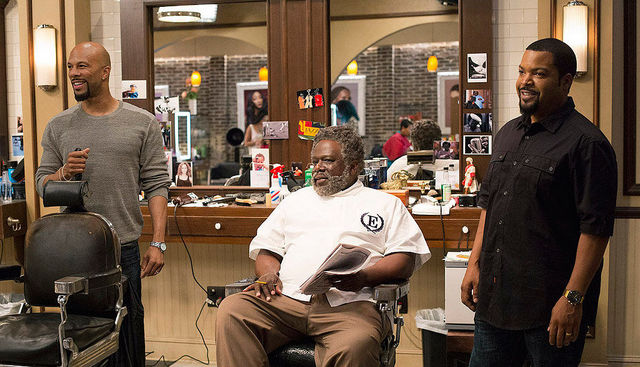 barbershop the next cut review - common, cedric the entertainer and ice cube
