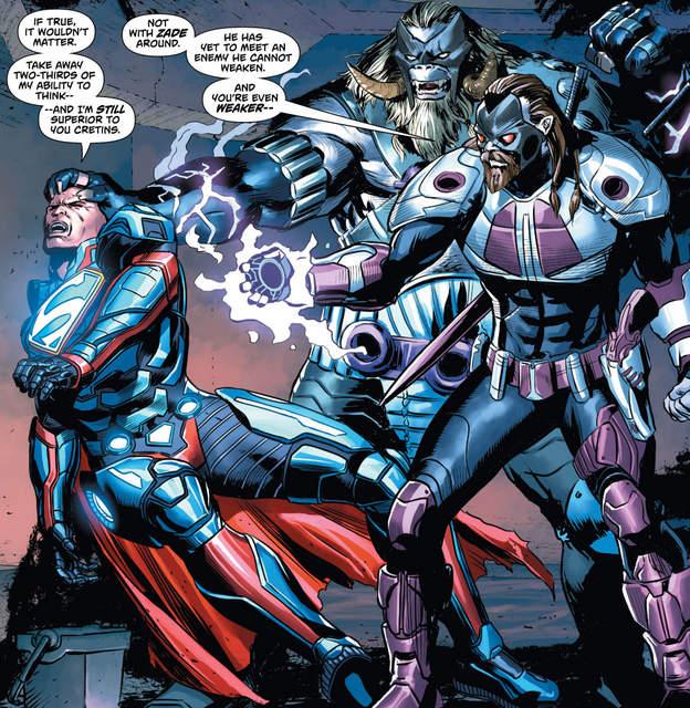 Action Comics #969 interior art