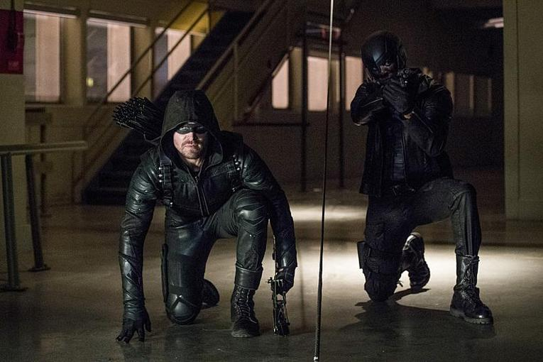 Arrow What We Leave Behind review - Green Arrow and Spartan