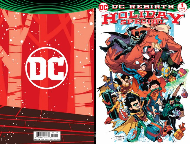 DC Holiday Special #1 cover