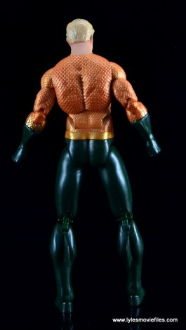 DC Icons Aquaman figure review - rear