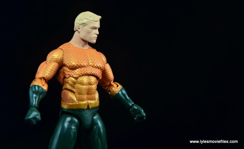 DC Icons Aquaman figure review - side shot