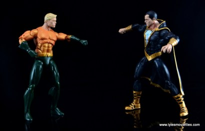 DC Icons Aquaman figure review - vs Black Adam
