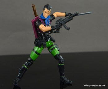 GI Joe Heavy Conflict Heavy Duty and Stiletto figure review - Stilleto with machine gun