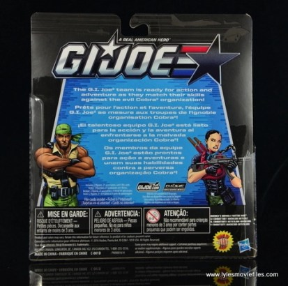 GI Joe Heavy Conflict Heavy Duty and Stiletto figure review - package rear-001