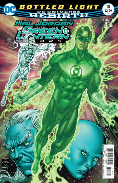 Hal Jordan and the Green Lantern Corps #10 cover