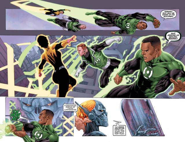 Hal Jordan and the Green Lantern Corps #10 interior art