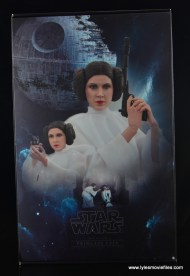 Hot Toys Princess Leia figure review -package interior