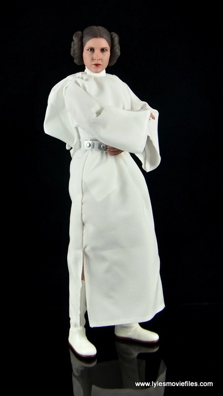 Hot Toys Princess Leia figure review - standing
