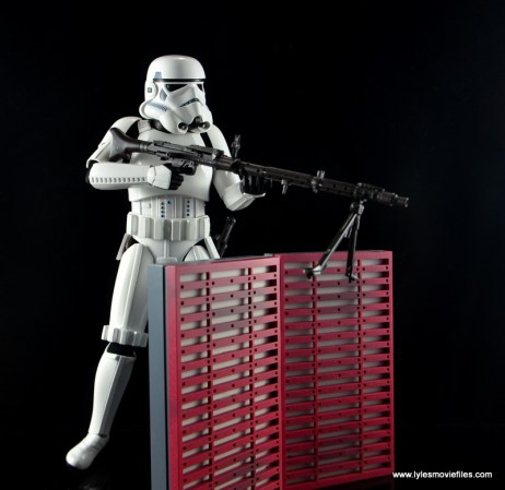 Hot Toys Stormtroopers figure review - behind the stands