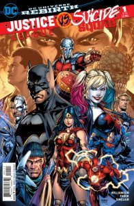 Justice League vs Suicide Squad #1 cover