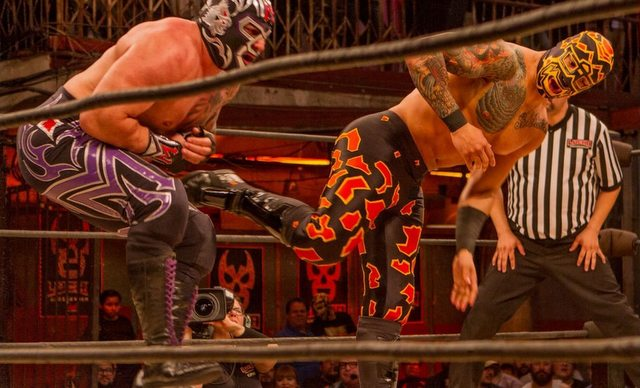 Lucha Underground Payback Time - Mil Muertes vs Prince Puma
