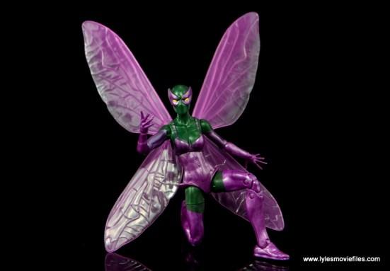 Marvel Legends Beetle figure review -on one knee