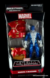 Marvel Legends Blizzard figure review - front package
