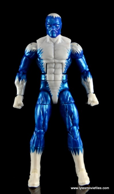 Marvel Legends Blizzard figure review -front