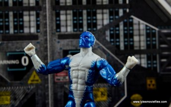 Marvel Legends Blizzard figure review -wide shot