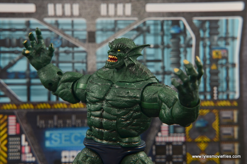 Marvel Legends The Raft figure review Abomination main