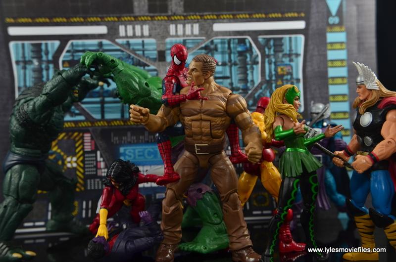 Marvel Legends The Raft figure review Avengers vs Villains