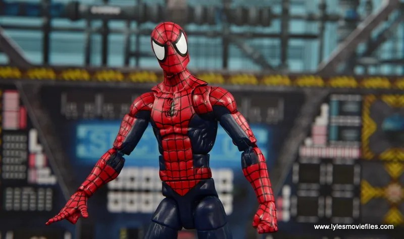 Marvel Legends The Raft figure review Spider-Man man pic