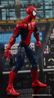 Marvel Legends The Raft figure review Spider-Man right side