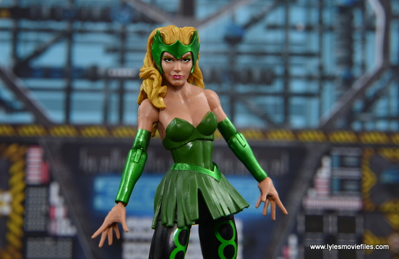 Marvel Legends The Raft figure review The Enchantress main pic