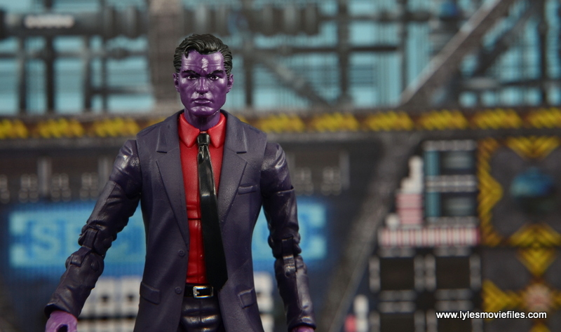 Marvel Legends The Raft figure review - The Purple Man main pic