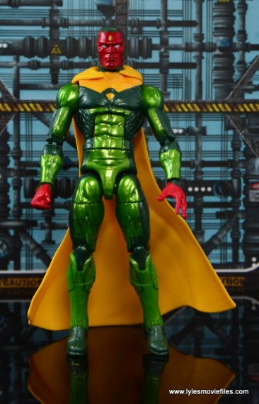 Marvel Legends Vision figure review -straight
